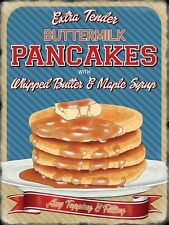 Pancakes, American Diner Kitchen Cafe Food Sweet Savoury Novelty Fridge Magnet