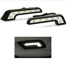1 x Pair 6 LED L Shape 6000K DRL Daytime Running Lights - Vauxhall Astra MK4 MK5