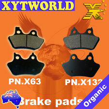 Harley Davidson FXSTBi Night Train Softail Brake Pads FRONT REAR 2006