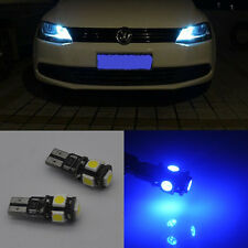 2x Error Free Blue LED Parking City Light bulb For VW Golf MK6 & GTI 2009-2014