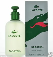 Booster by Lacoste for Men Eau de Toilette 4.2 oz 125 ml  Spray for men