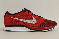 Nike Flyknit Racer University Red White Black 2013 New 526628 610 Size 10