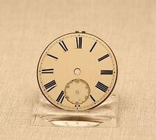 Zifferblatt Uhr Spindel Taschenuhr porcelain fusee pocket watch dial clock
