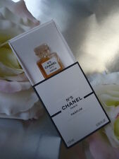 CHANEL No5 1.5ml PURE PARFUM VINTAGE 1980's MICRO MINIATURE SLIGHT MARKS TO BOX