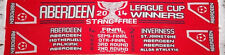 ABERDEEN FC LEAGUE CUP WINNERS 2014 SCARF