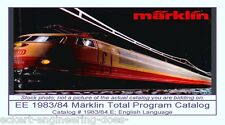 EE 1983/84 E EXC Marklin Total Catalog Years 1983 1984 Class 103 Excellent Cond