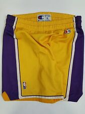 PANTALONCINO BASKET LOS ANGELES LAKERS TG.L NBA USA RARE CHAMPION VINTAGE PB2