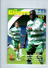 YEOVIL TOWN V SWANSEA CITY 24TH FEBUARY 2007 LEAGUE ONE