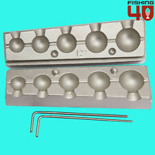 Ball In-Liner lead Mould 9-16-22-30-42g Fishing Mould/Sea Fishing/Carp Fishing