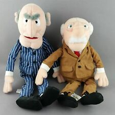 Waldorf Statler Plush Bean Bag Doll Muppets Grumpy Men NWT