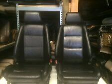 E30 BMW (325/318) Convertible OEM Black Front Sport Seats  (87-92) in ' $1300.00