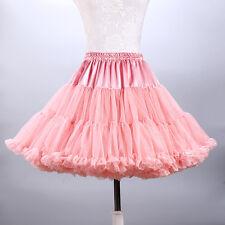 Retro Underskirt 50s Swing Vintage Petticoat Dance Rockabilly Tutu Fancy Skirt