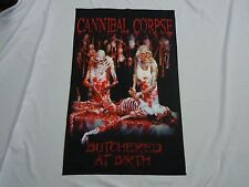 CANNIBAL CORPSE BUTCHERED AT BIRTH TEXTILE FLAG