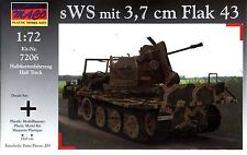 MACO 1/72 7206 WWII German sWS with 3.7cm Flak 43 Anti-Aircraft Gun