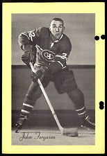 1945-1964 BEEHIVE GROUP 2 JOHN FERGUSON MONTREAL CANADIENS HOCKEY PHOTO