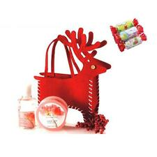 XMAS Red Deer Christmas Gift Bags Candy Non-wove Handmade Present Decorations
