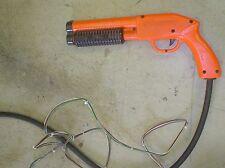 midway pump pistol arcade gun untested