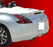 FITS NISSAN 370Z CONVERTIBLE 2010-2015 BOLT ON REAR SPOILER PAINTED (P)