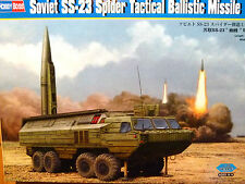 Hobbyboss 1:35 SS-23 Spider Soviet Tactical Ballistic Missile Vehicle Model Kit