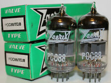 NOS Zaerix PCC88 / 7DJ8 tubes, Matched Pair, Brand new in boxes !!!