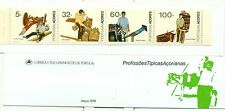MESTIERI - LOCAL HANDWERKS AZORES 1990 Common Stamps I booklet