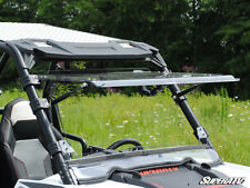 SuperATV Polaris RZR 570/800/XP 900 Scratch Resistant Flip Tilt Windshield