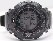 Casio PROTREK Altimeter Thermometer Atomic Compass Tide Solar Watch PRW2500-1AWC