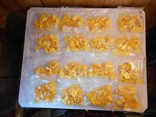 400 BACKS ONLY Yellow Plastic Large Livestock Ear Tags for Cow Cattle