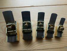 5 CONVEX PLANES VARIOUS SIZES, LUTHIER VIOLIN, INSTRUMENT MAKING, PROF. QUALITY!