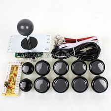 Arcade DIY Kit Parts USB Encoder To PC Games + Sanwa joystick + OBSF-30 Buttons