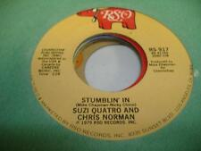 """Rock 45 SUZI QUATRO AND CHRIS NORMAN Stumblin' In on RSO 7"""""""