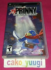 PRINNY  CAN I REALLY BE THE HERO SONY PSP TRES BON ETAT VERSION US