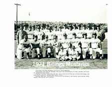1971 BILLINGS MUSTANGS 8X10 TEAM PHOTO GEORGE BRETT ROYALS  BASEBALL HOF