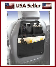 Black Back Seat Multi Pocket Compartment Storage Organizer Car /Auto /Truck / RV