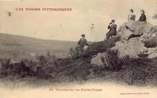 Touristes dans les Hautes-Vosges