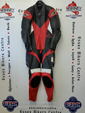 Alpinestars Sphere One Piece Motorcycle Leathers Black Red White Eu 52 UK 42