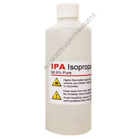 500ML BOTTLE OF CLEANING SOLUTION ISOPROPANOL IPA ISOPROPYL ALCOHOL 99.9% PURE