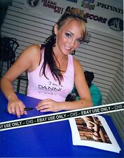 CHARLIE LAINE SEXY!! COLOR CANDID 8x10 PHOTO HOT ADULT FILM STAR!!