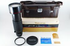 【AB- Exc】Tokina AT-X SD 150-500mm f/5.6 MF Lens for Nikon w/Box From JAPAN #2034