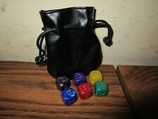 Cyclades 6 colored Battle dice promo with pouch