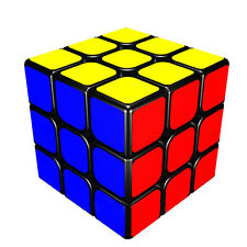 Magic Cube 3x3x3 Speed Twist Puzzle Kid Educational Toy Game