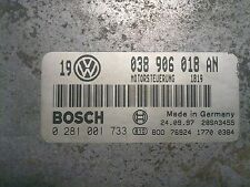 TUNED!!! VW GOLF BORA ECU 1.9 TDI 90 ALH  038906018AN 0281001733 IMMO OFF