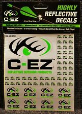 C-EZ Green Highly Reflective Decals 20 Arrow Wrap Strips 8 Treestand Wraps