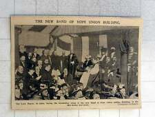 1902 Lord Mayor Lays Foundation Stone New Band Of Hope Union Jubilee Building
