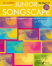 Junior Songscape with CD Children Piano Vocal Learn Play FABER Music BOOK & CD
