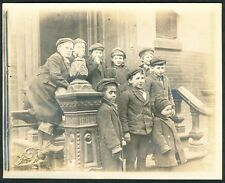 c. 1905 JEWISH PRIVATE SCHOOL KIDS, INTEGRATED New York City Vintage Photo
