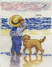 All Our Yesterdays Fetch Boy Cross Stitch Kit - Ltd Edn with Free Booklet
