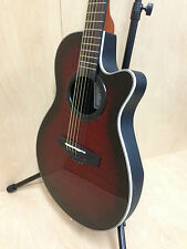 "38"" Caraya Round-back Acoustic Guitar TigerRed w/Free gig bag,Extra String Set"