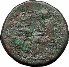 SMYRNA in IONIA 105BC Poet Homer of Iliad and Odyssey Ancient Greek Coin i54610