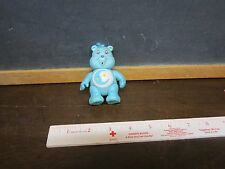 Vintage PVC Care Bear Figure Toy Birthday Cake Toppers hair Bedtime Moon sleepy